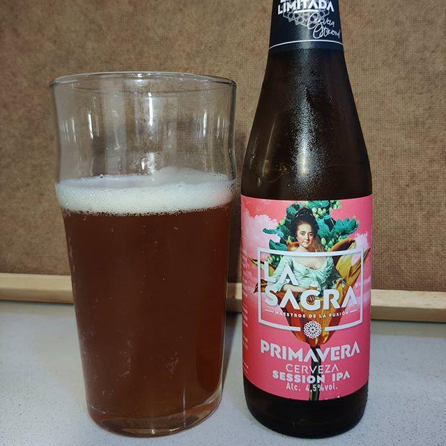 Cerveza Primavera de La Sagra