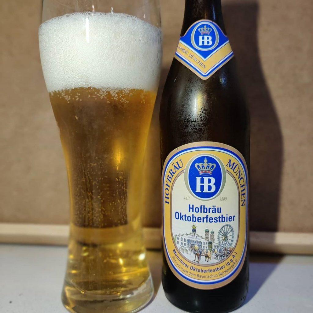 Cerveza Hofbräu Oktoberfestbier