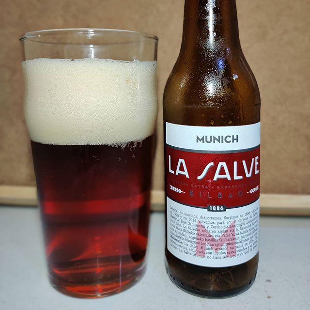 Cerveza La Salve Múnich