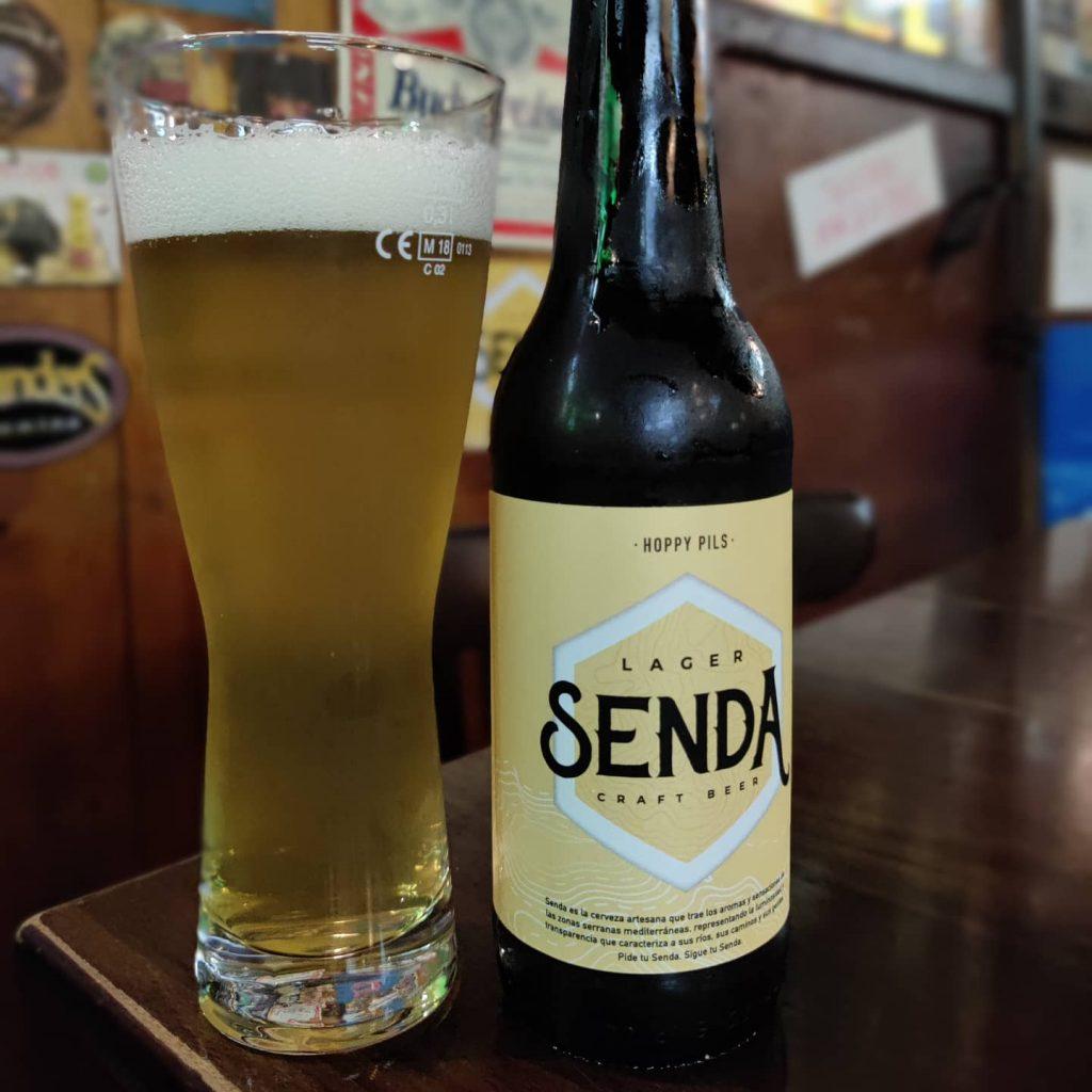 Cerveza Senda Hoppy Pils