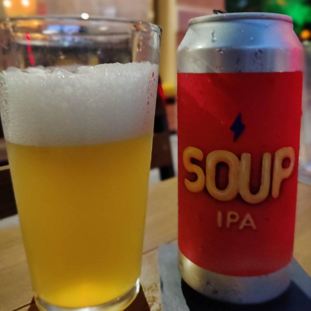 Cerveza Soup IPA de Garage Beer Co