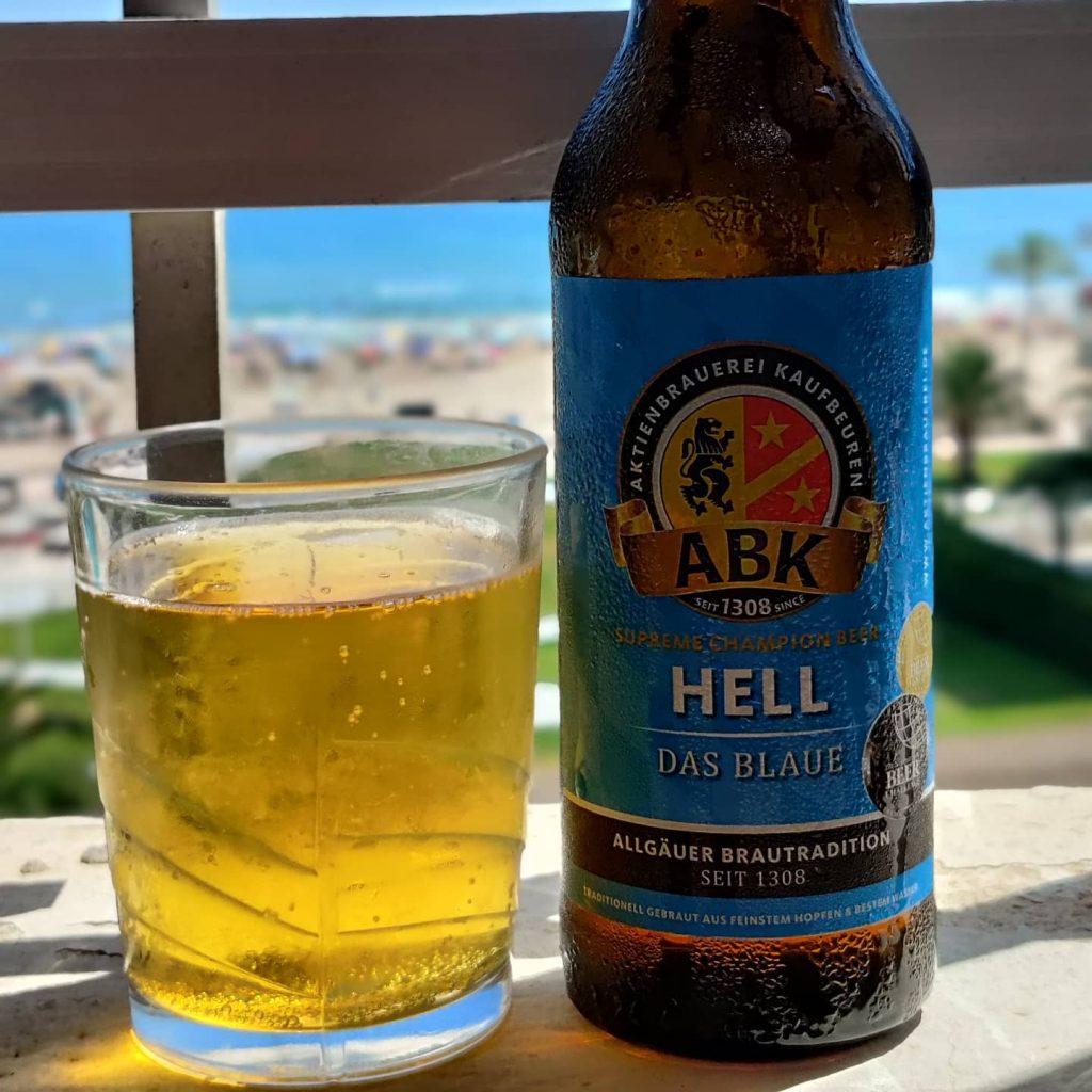 Cerveza ABK Hell 'Das Blaue'