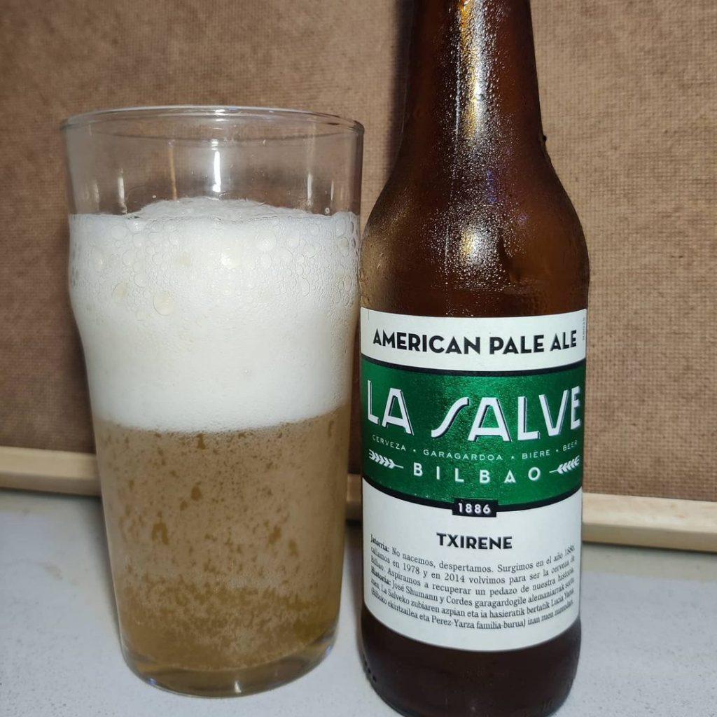 Cerveza La Salve Txirene