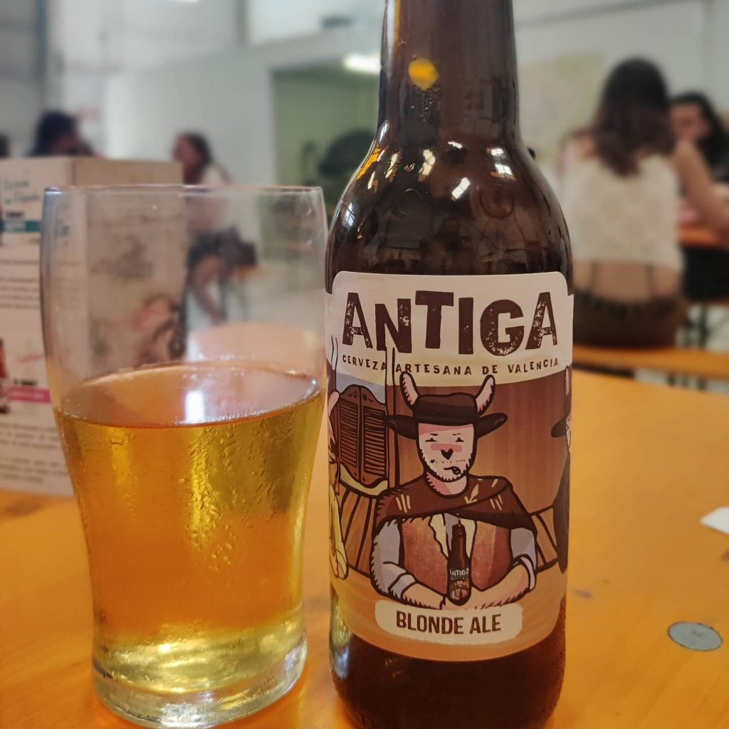 Cerveza Blonde Ale de Antiga Artesana