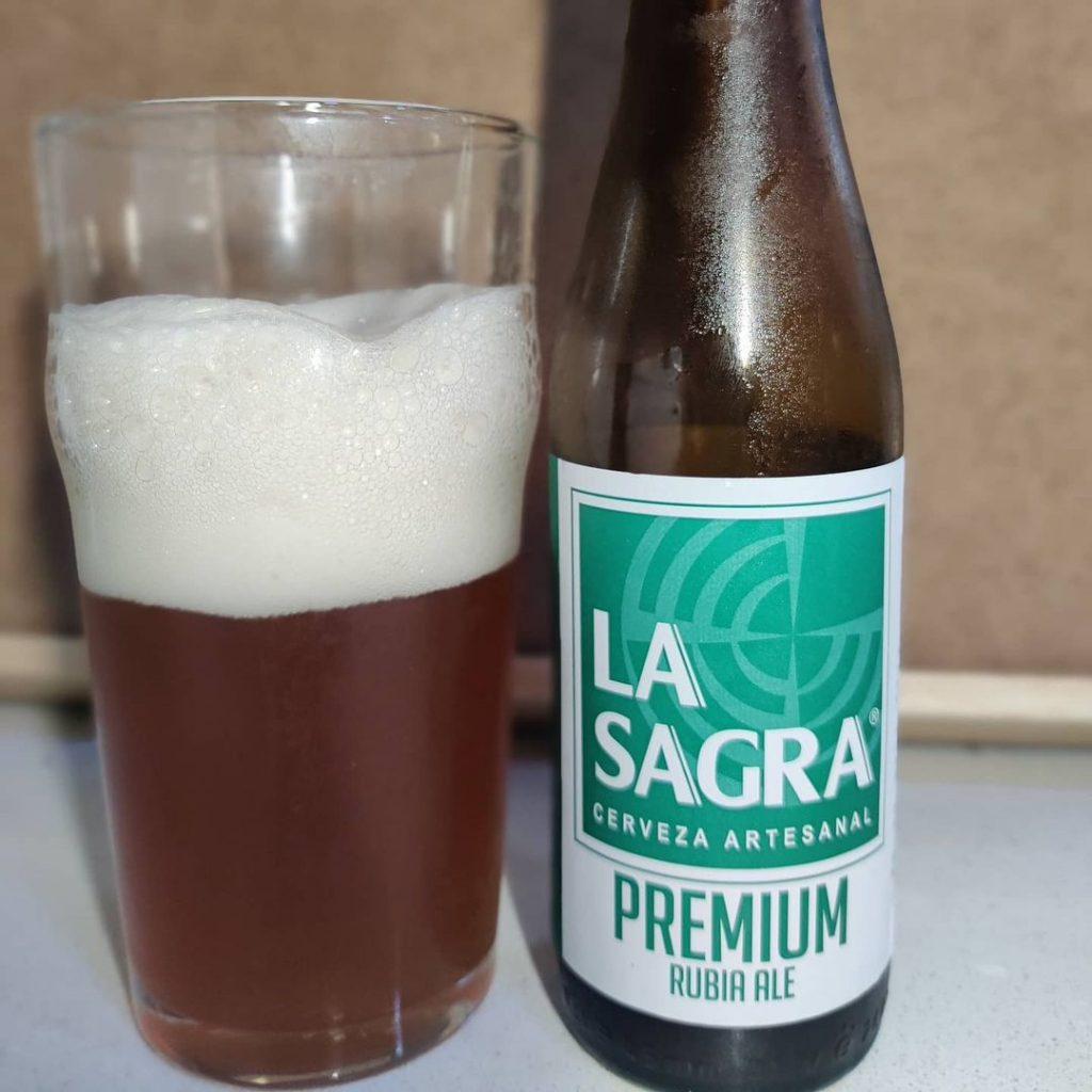 Cerveza La Sagra Premium Ale