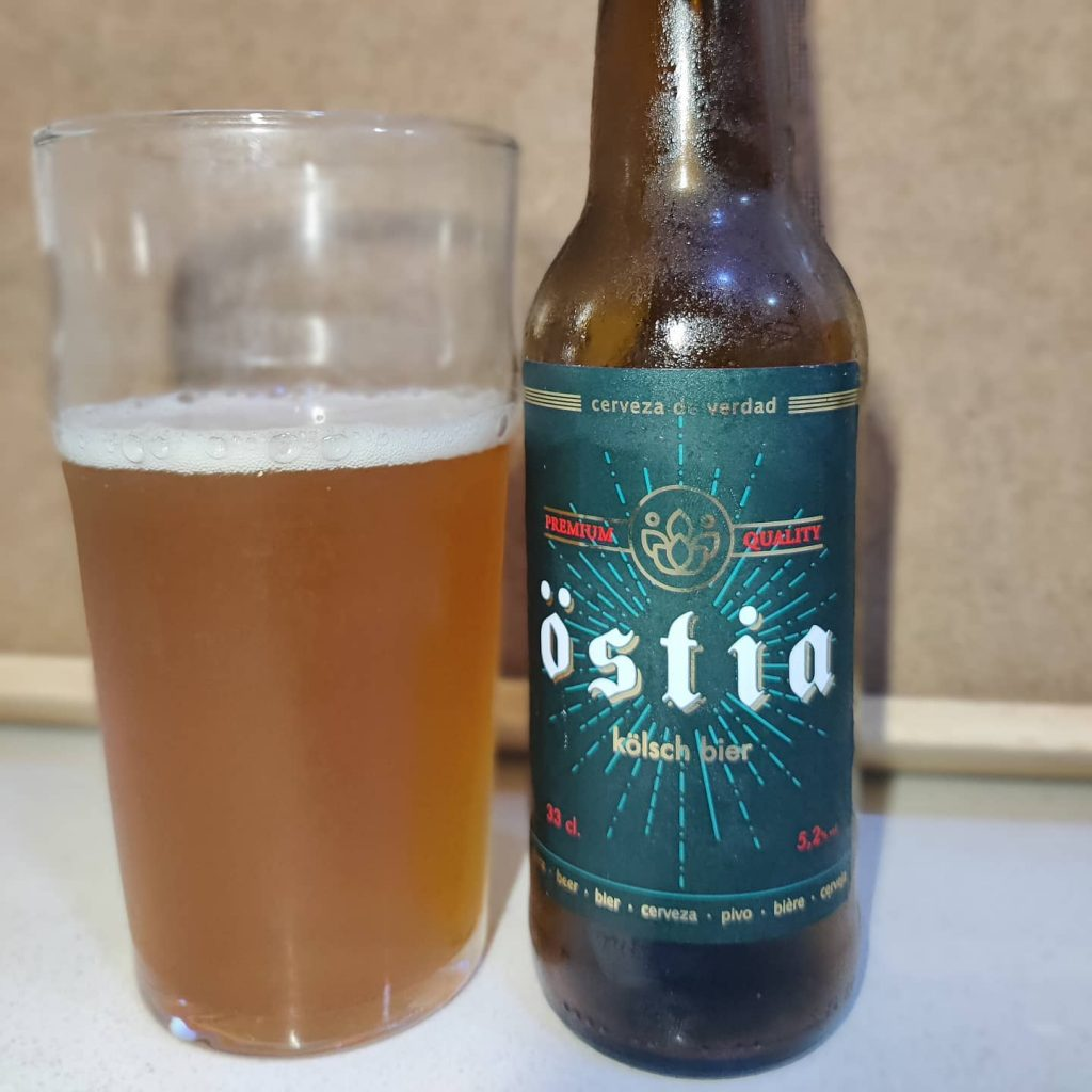 Cerveza Östia Kölsch Bier