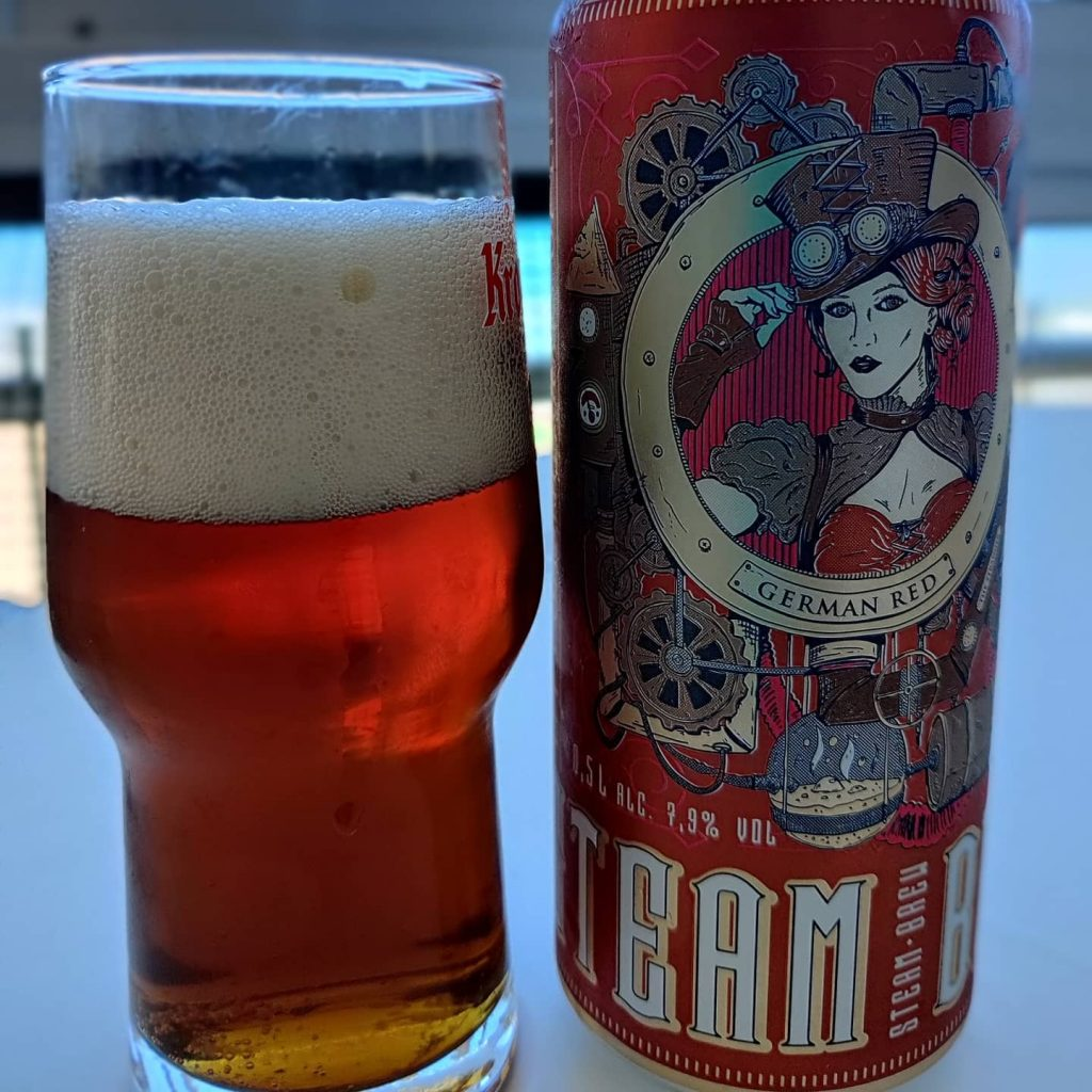 Cerveza Steam Brew «German Red»