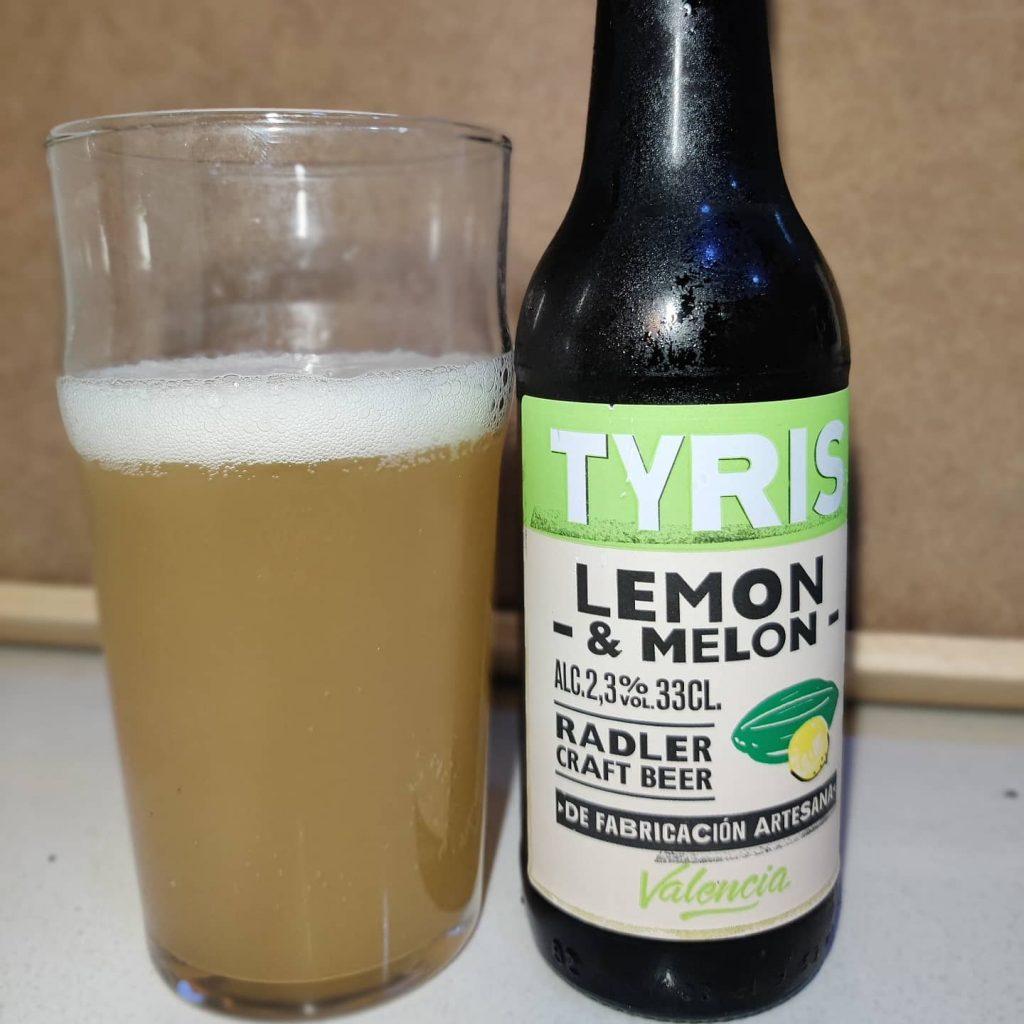 Cerveza Tyris Limón y Melón