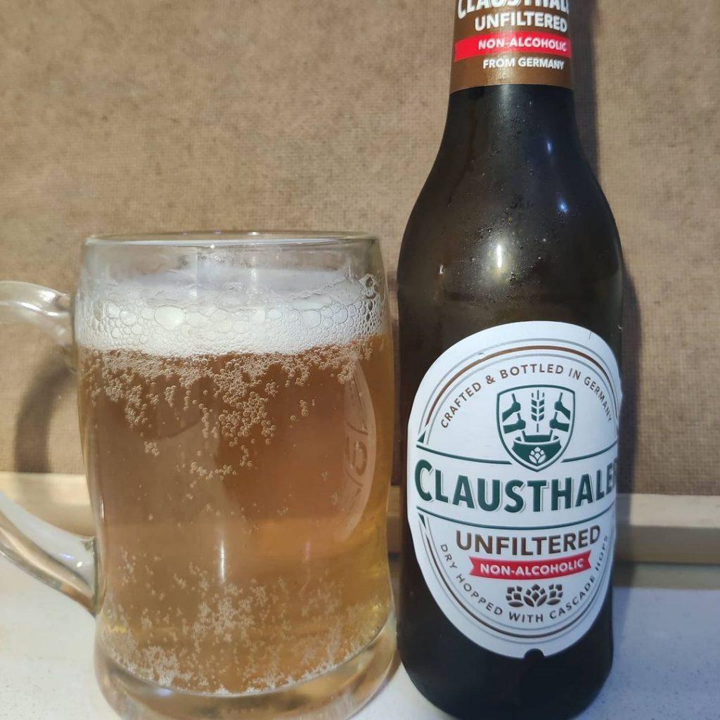 Cerveza Clausthaler Unfiltered