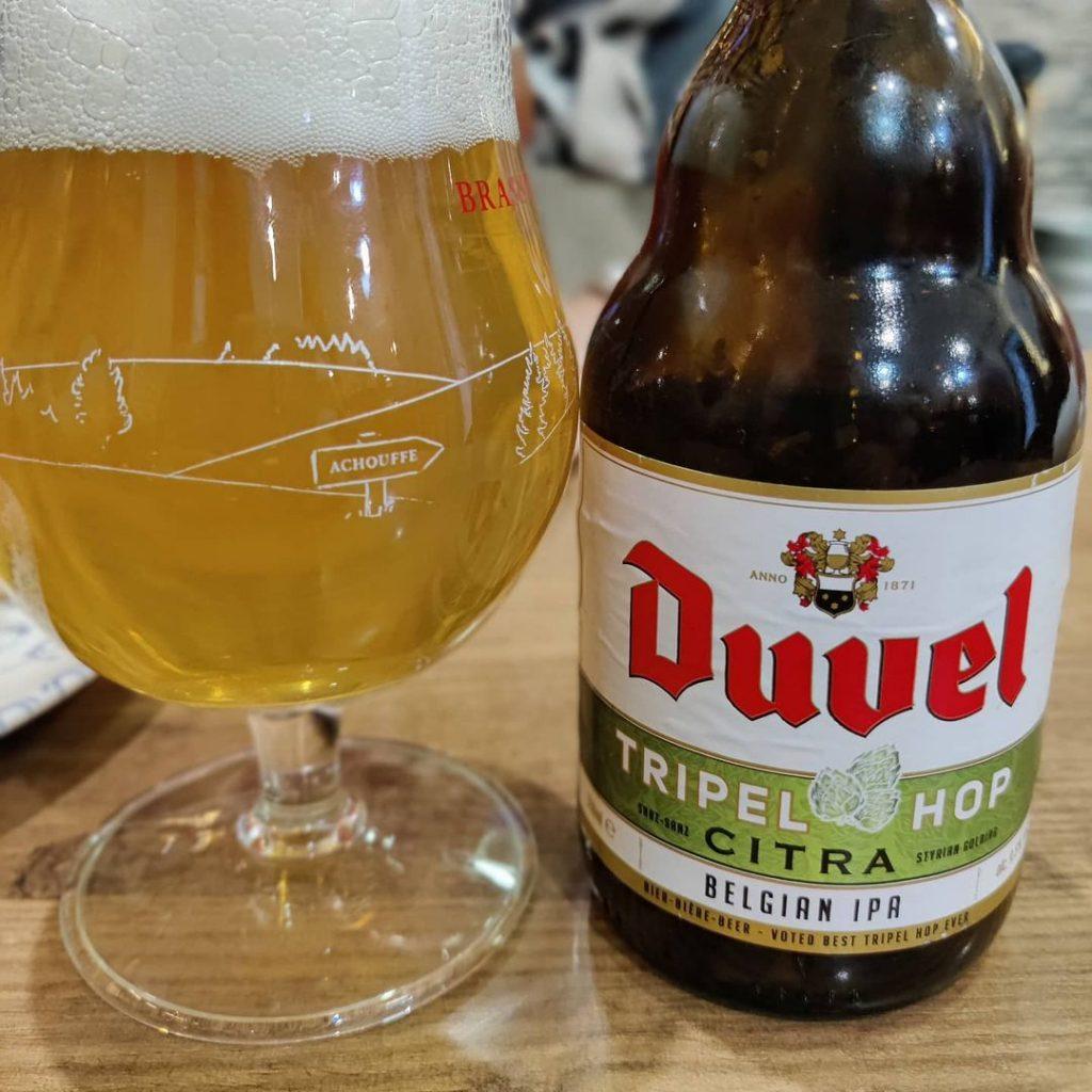 Cerveza Duvel Tripel Hot Citra