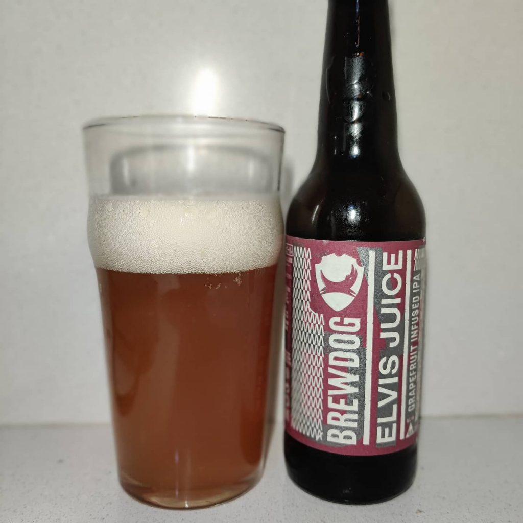 Cerveza Elvis Juice de BrewDog