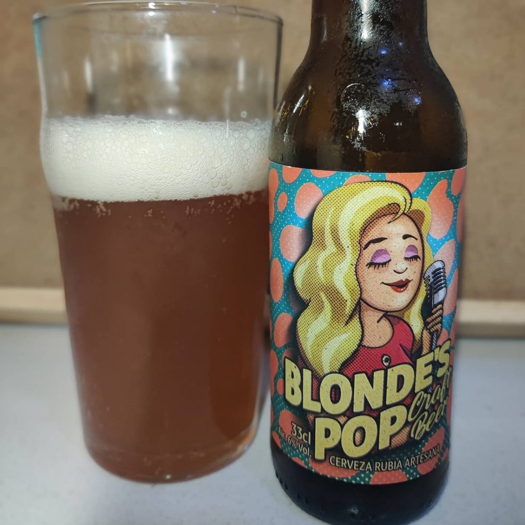 Cerveza Blonde's Pop