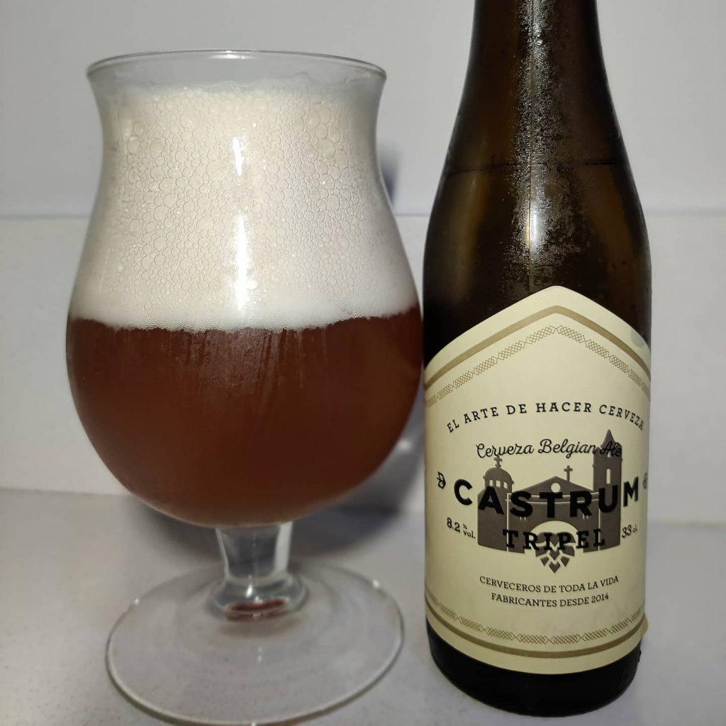Cerveza Castrum Tripel Belga