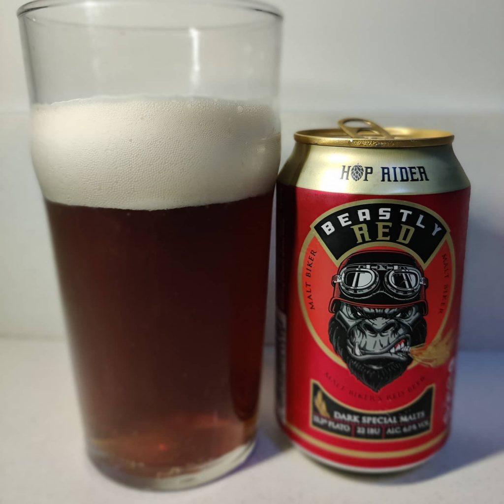 Cerveza Hop Rider Red