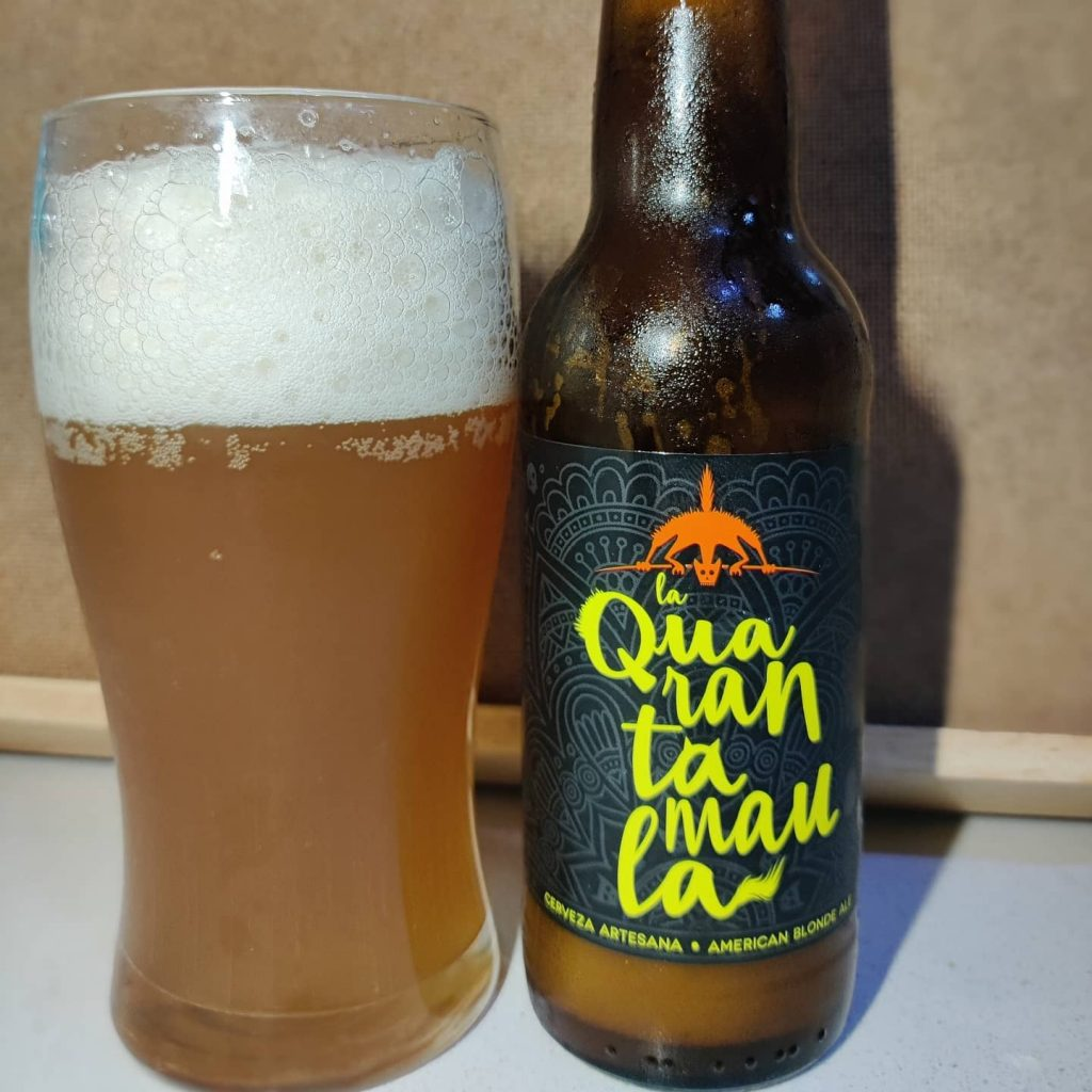 Cerveza Quarantamaula American Golden Ale