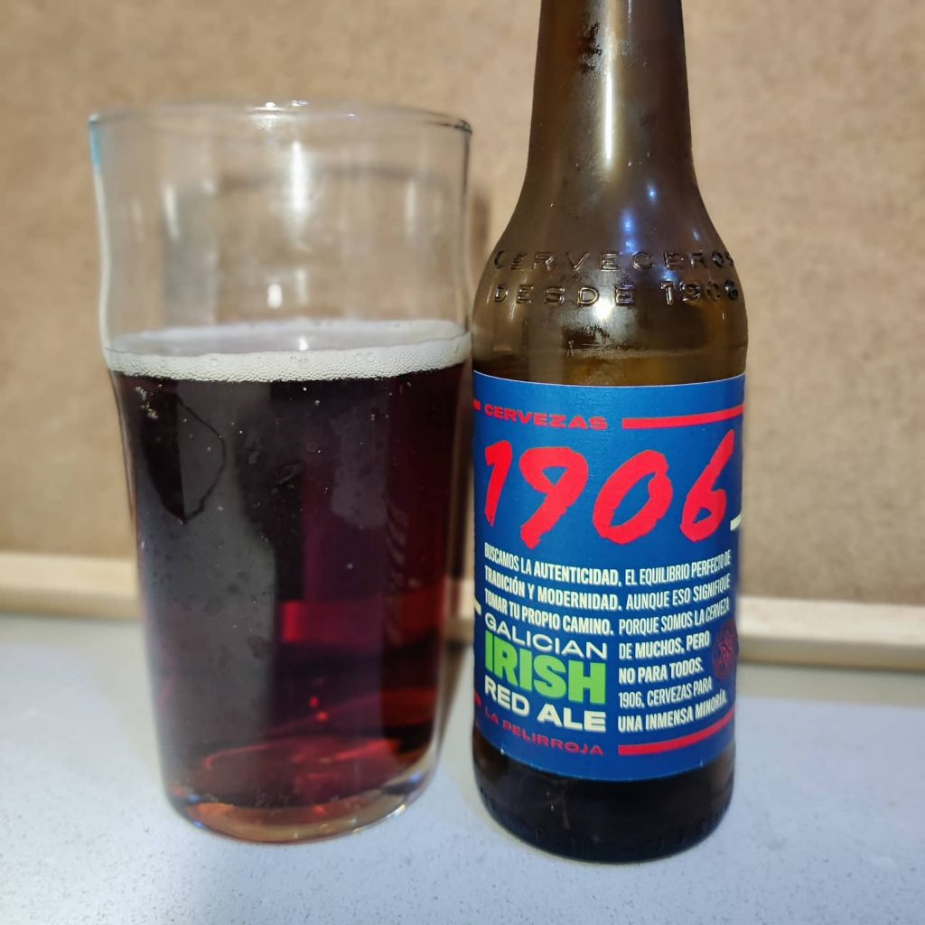 Cerveza 1906 Galician Irish Red La Pelirroja