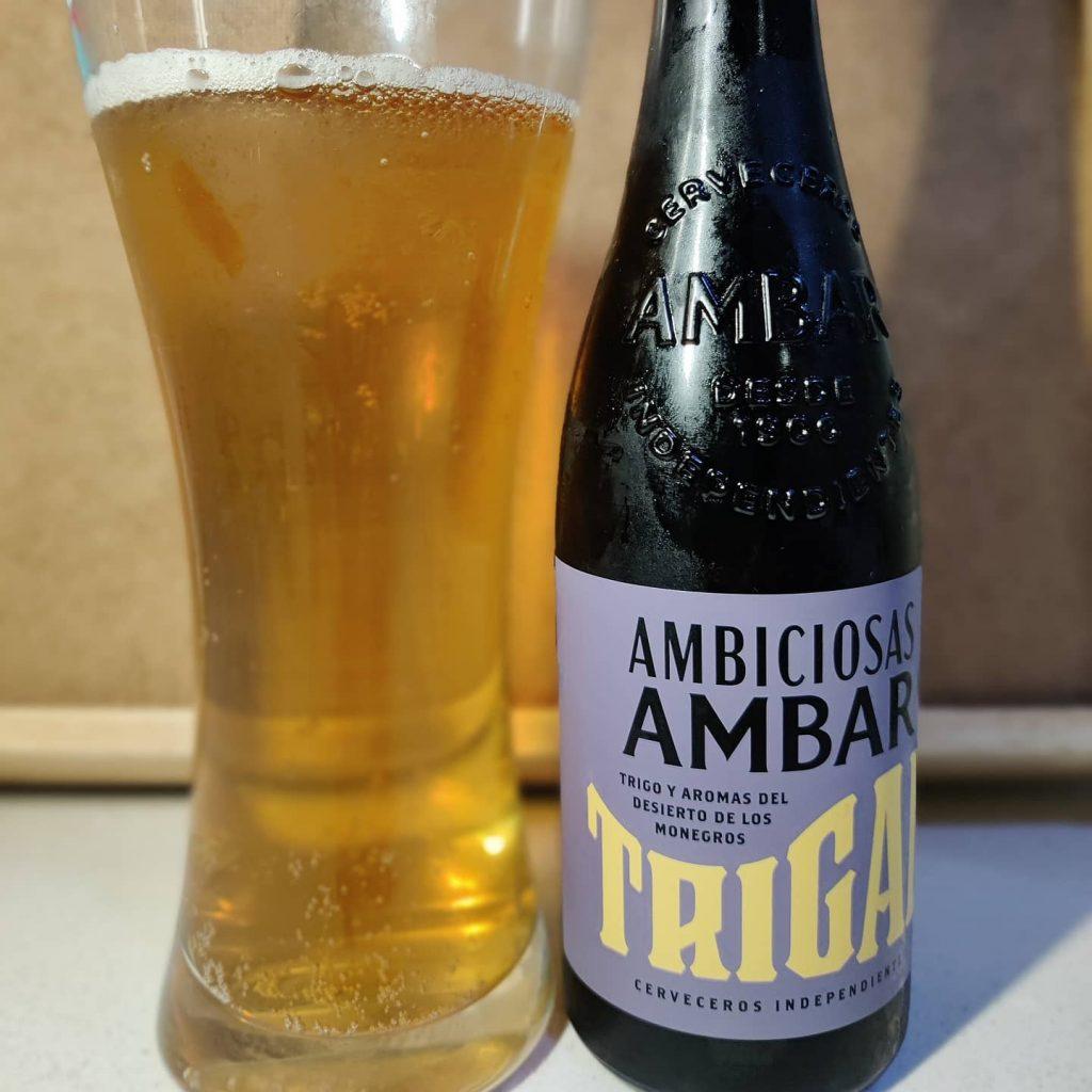 Cerveza Ambiciosas Ámbar Trigal