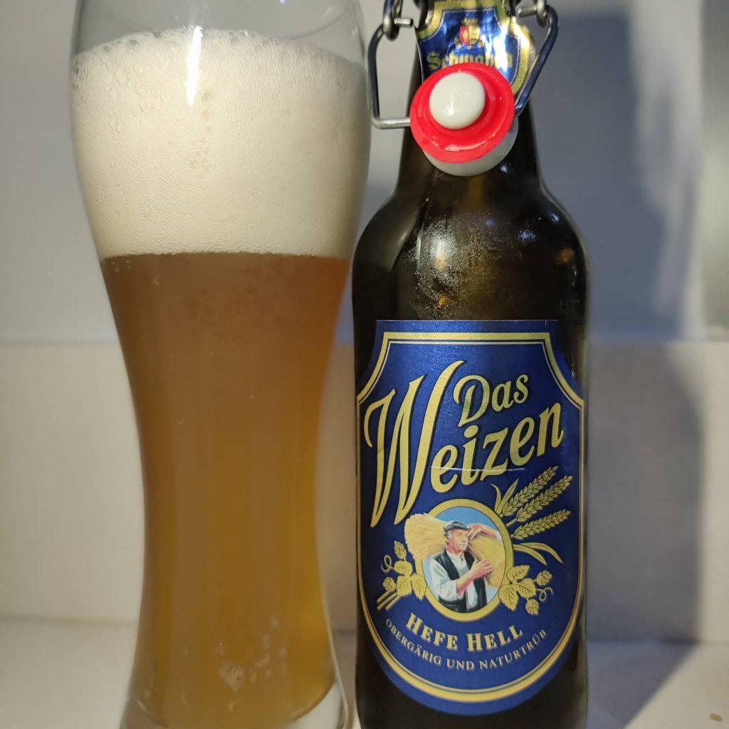 Cerveza Das Weizen de Dinkelacker