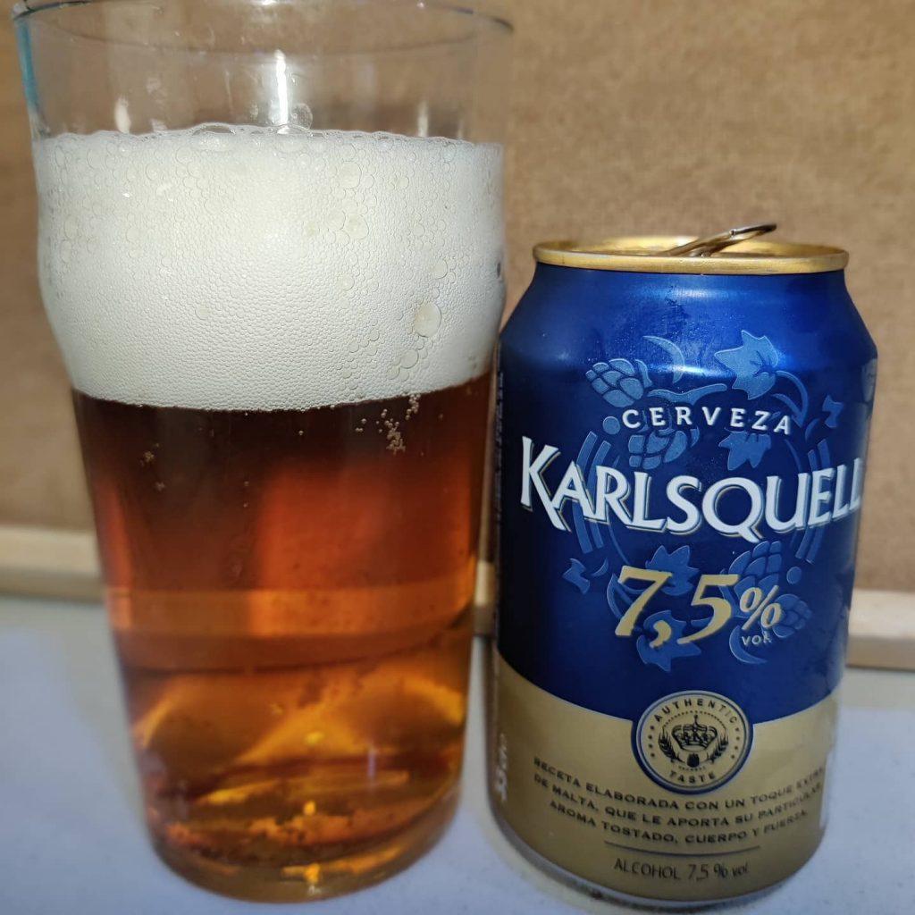 Cerveza Karlsquell 7.5%