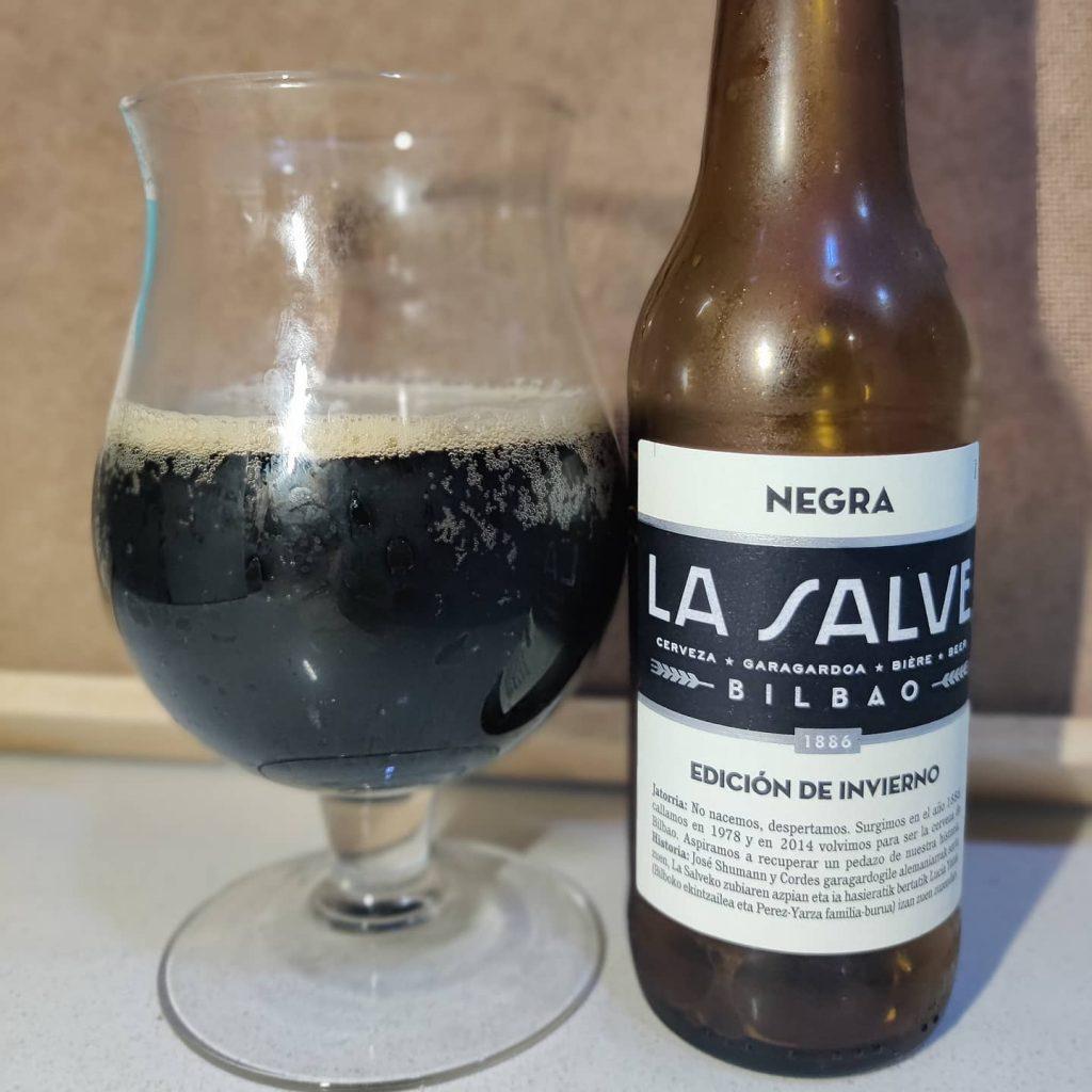 Cerveza Negra La Salve Edición de Invierno