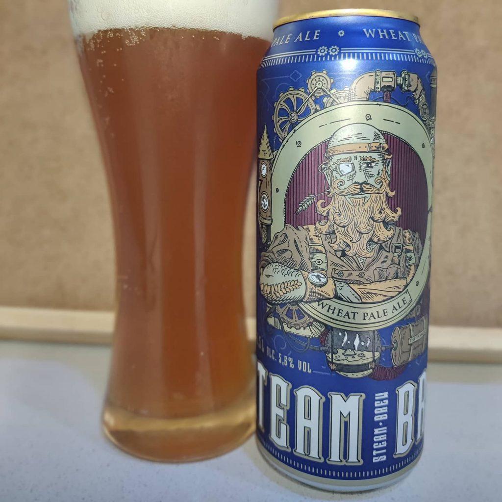 Cerveza Steam Brew Wheat Pale Ale 1