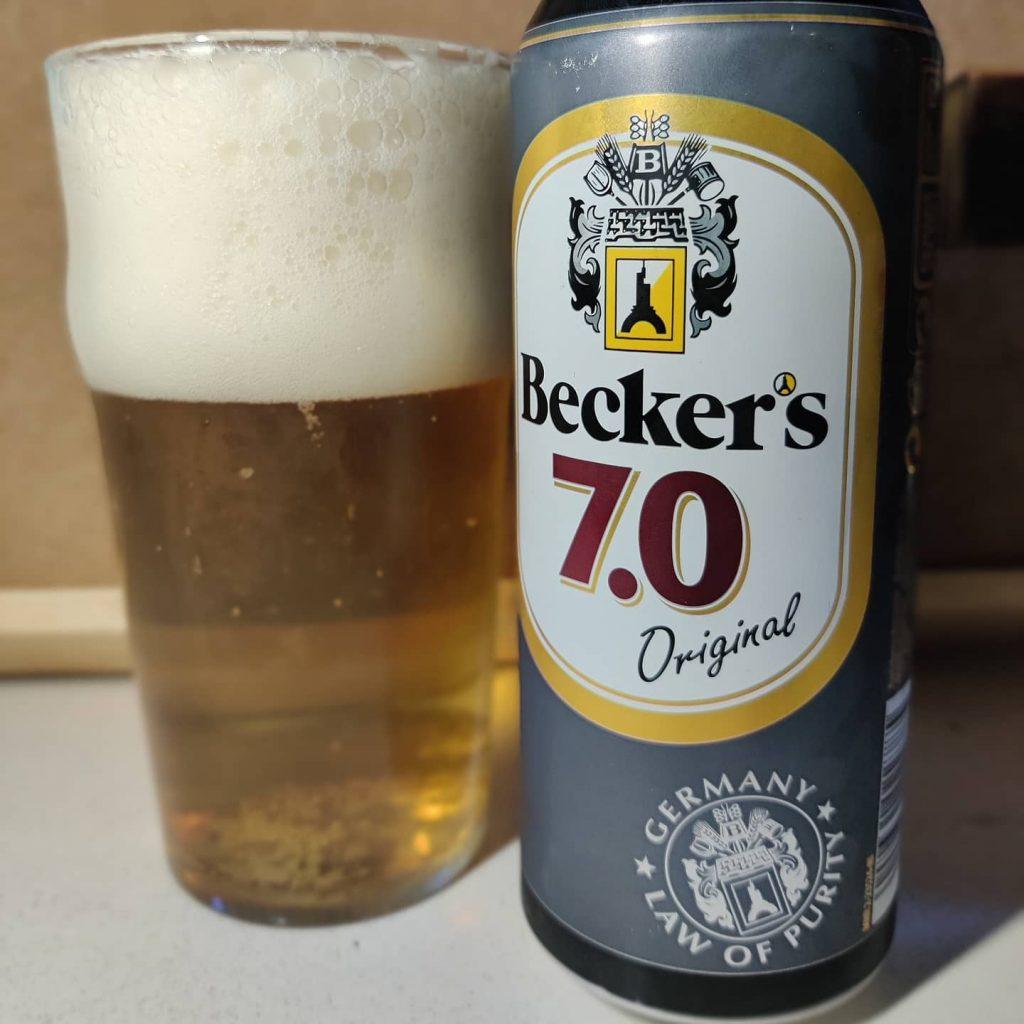 Cerveza Beckers 7.0 2