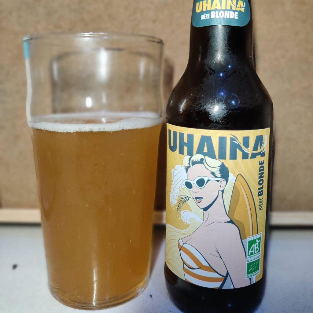Cerveza Uhaina Bière Blonde 3