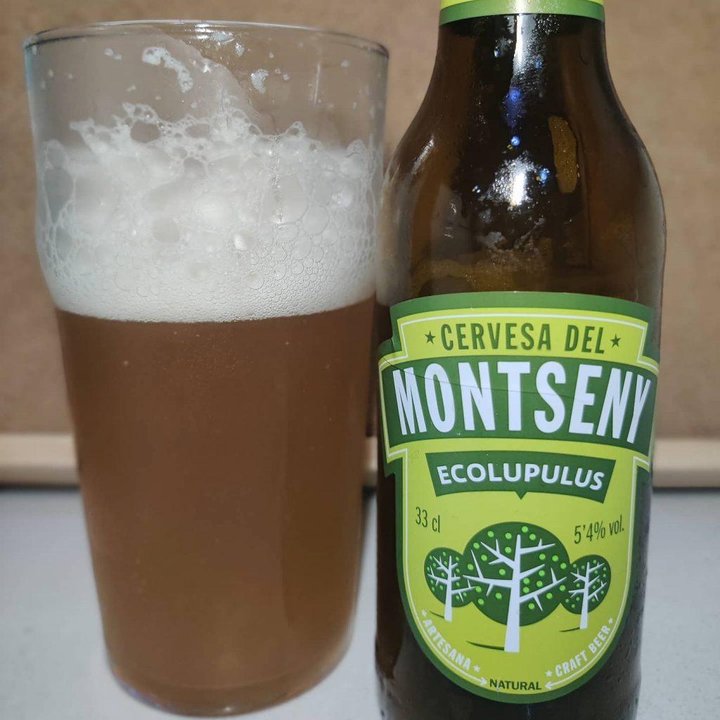 Cerveza Montseny Ecolupulus 3