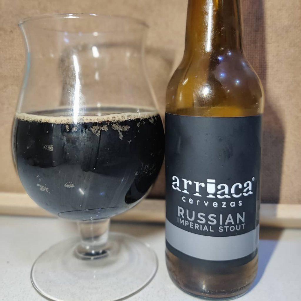 Cerveza Arriaca Russian Imperial Stout