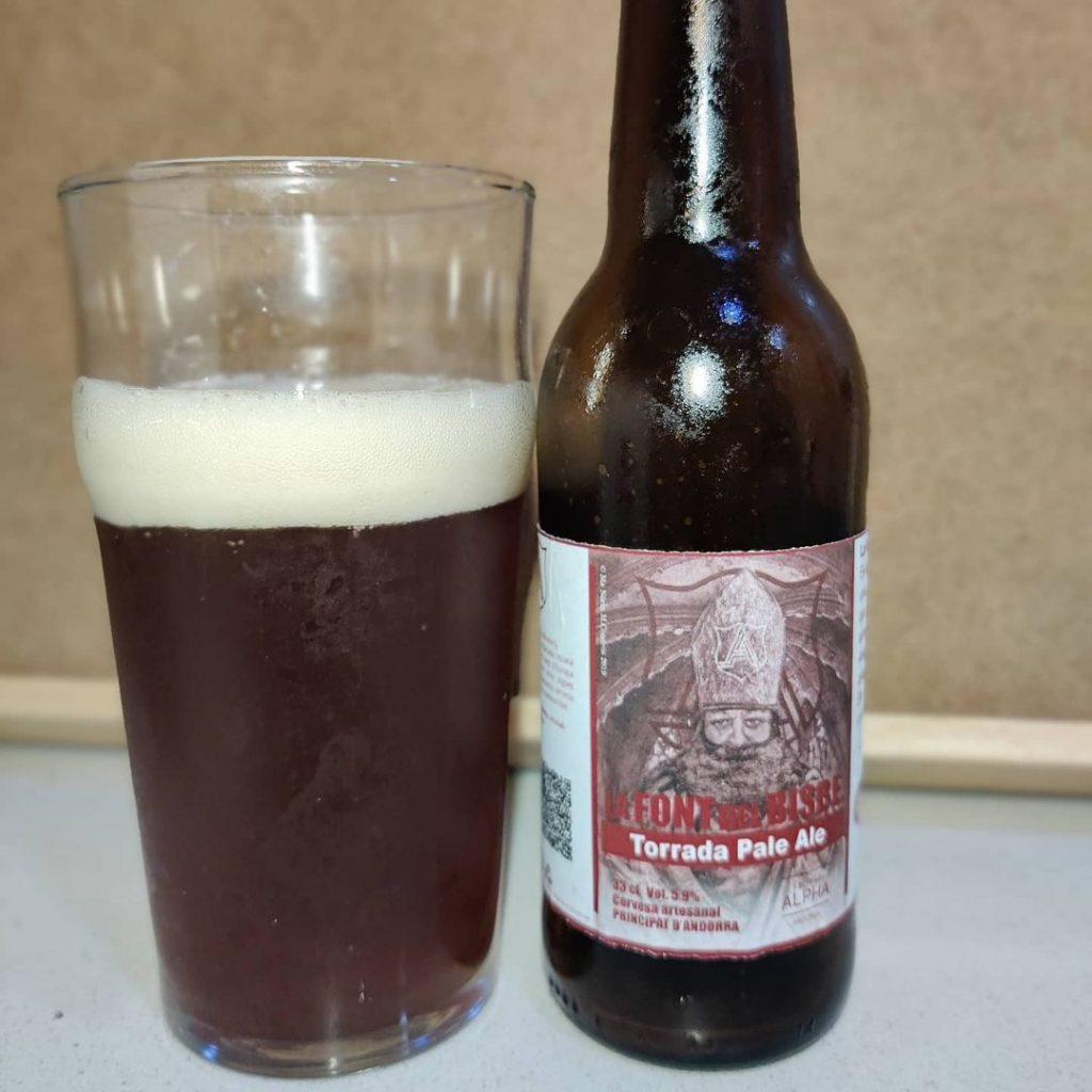 Cerveza La Font del Bisbe