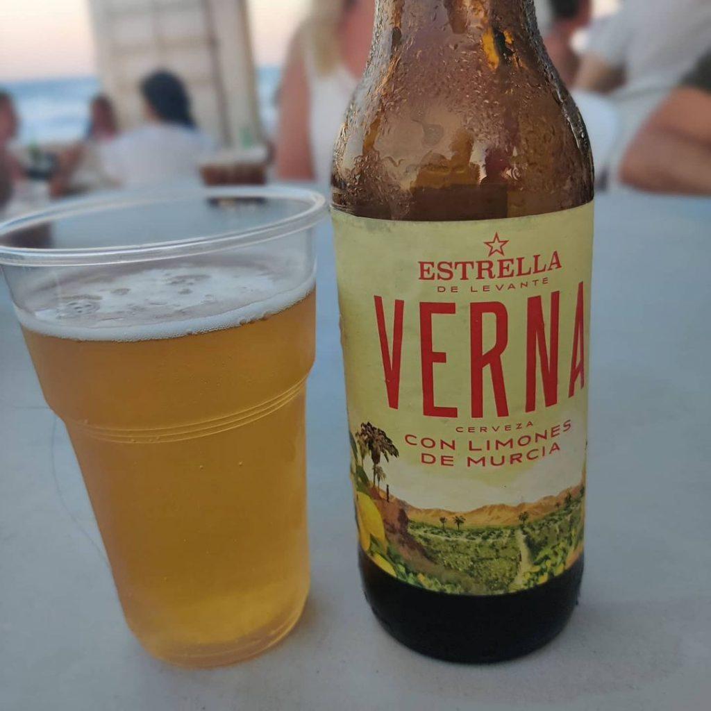 Cerveza Verna de Estrella de Levante