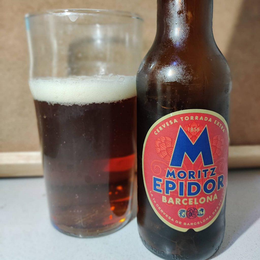 Cerveza Moritz Epidor 8