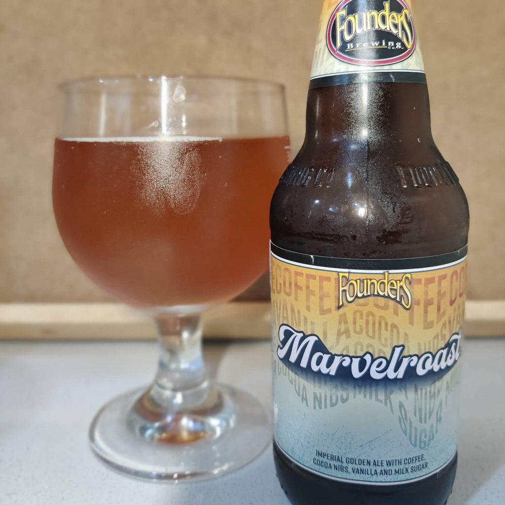 Cerveza Founders Marvelroast 2