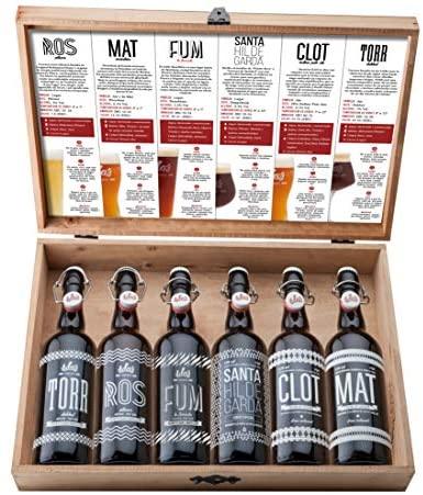 ILDA's 1 Selección cervezas artesanas 75 cl, Maletín Degustación 6 estilos- 6 botellas X 75 cl