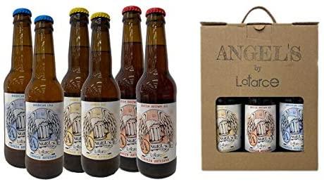 Cervezas Artesanas Latarce | Pack Cartón Mix 6 Cervezas Angel's By Latarce | Cervezas Artesanas | Cerveza Artesana