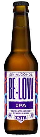 BELOW IPA SIN ALCOHOL 12 x 33cl. Pack de Cervezas Artesanas SIN ALCOHOL para Disfrutar de Todo el Sabor y Aroma de las Mejores IPA