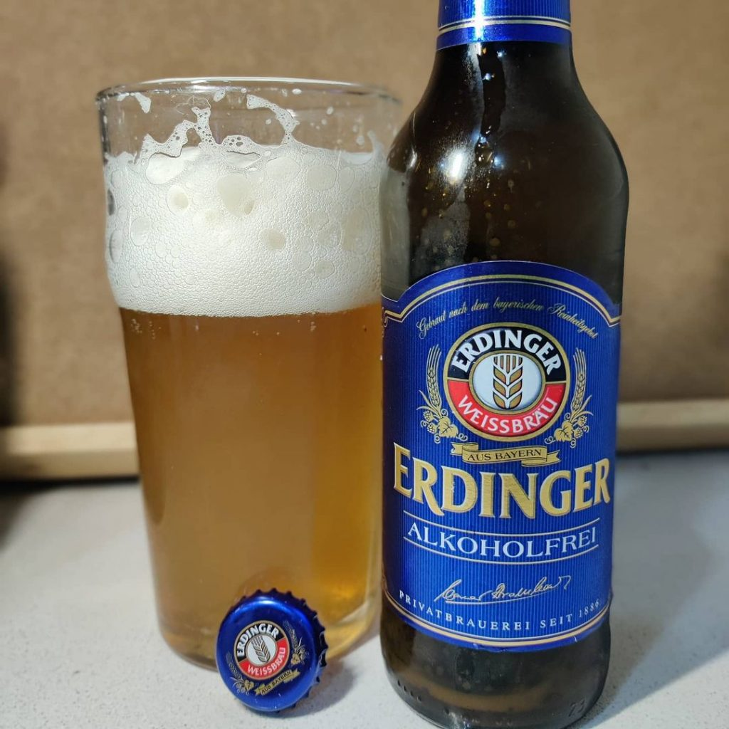 Cerveza Erdinger de trigo Sin Alcóhol