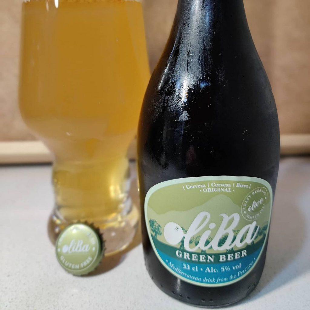 Cerveza Oliba Green Beer