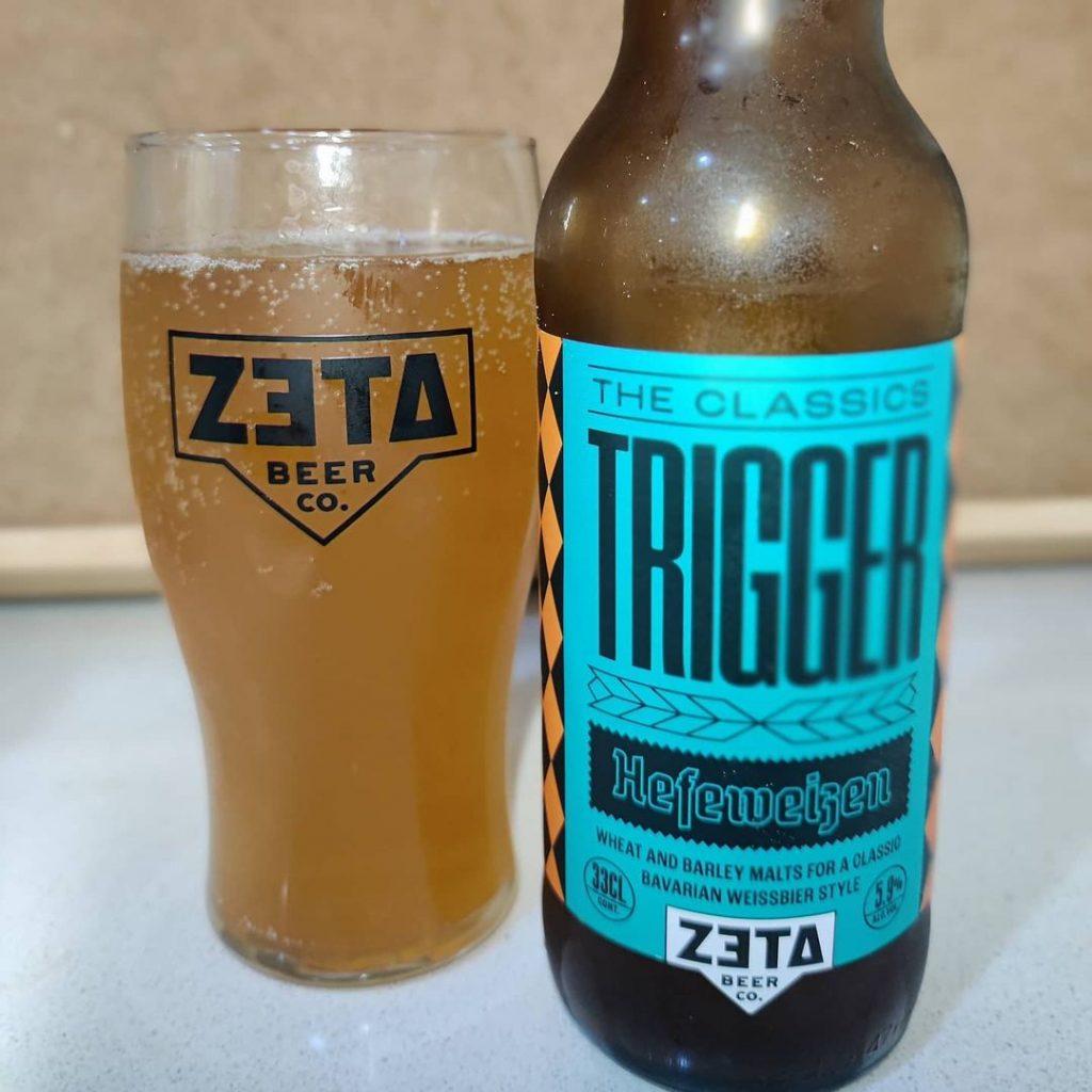 Cerveza Zeta Trigger Hefeweizen,