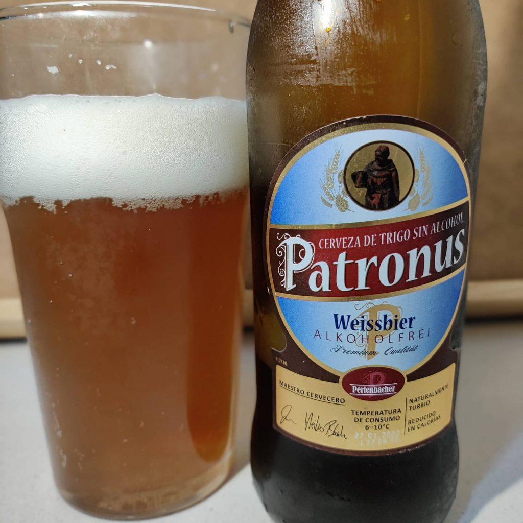 Cerveza Patronus sin alcohol 2