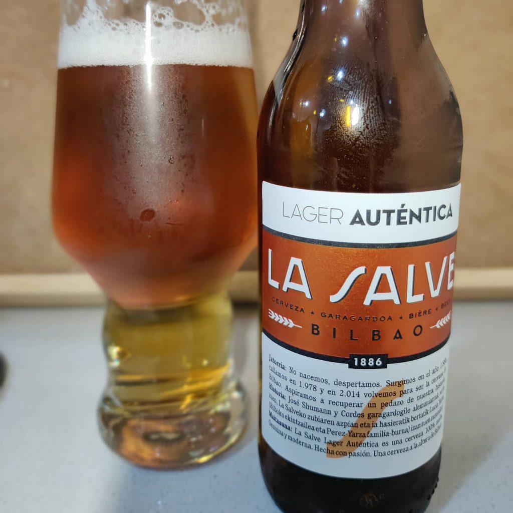 Cerveza La Salve Lager Auténtica 6