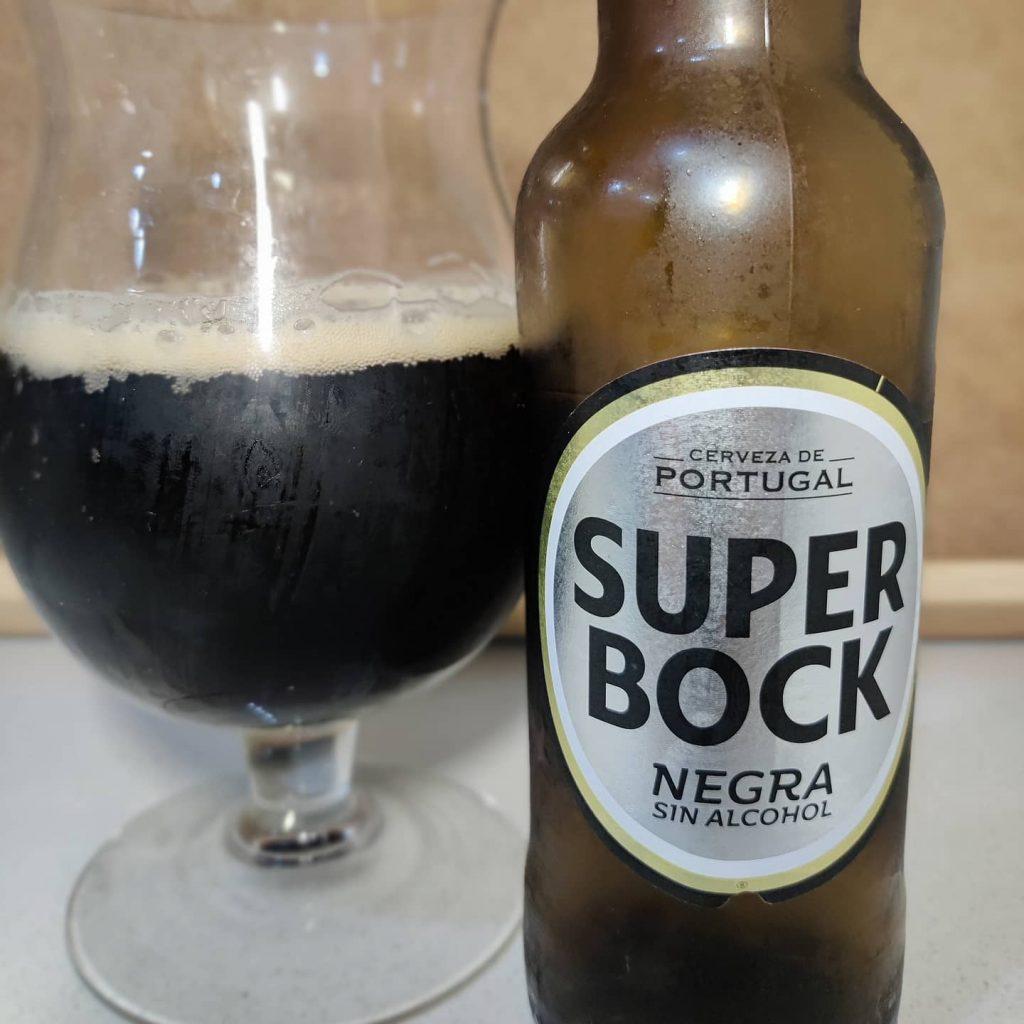Cerveza Super Bock Negra Sin Alcohol 1