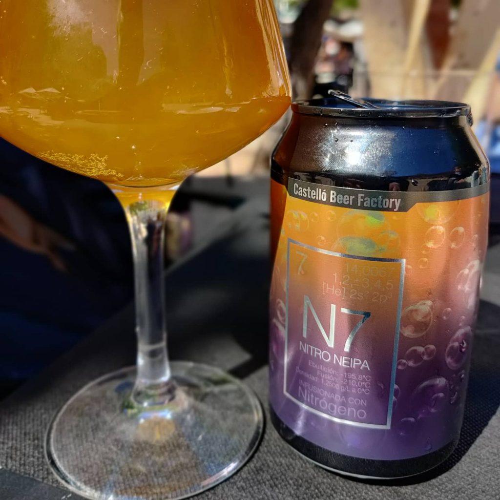Cerveza N7 Nitro Neipa de Castelló Beer Factory 1
