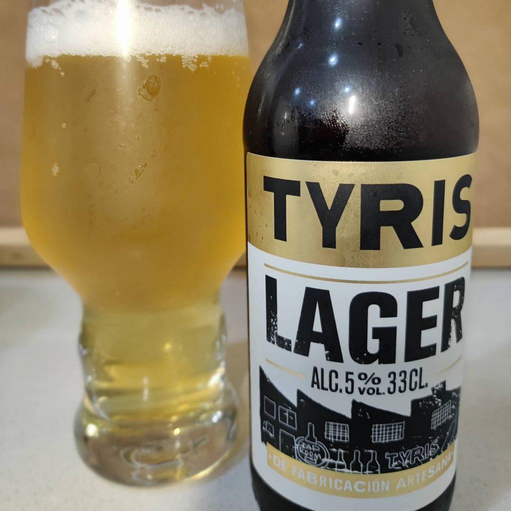 Cerveza Tyris Lager 4