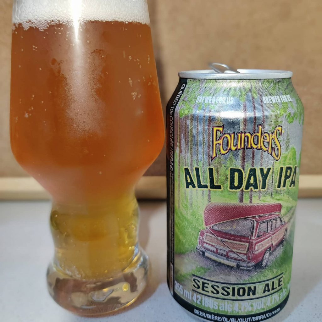 Cerveza All Day IPA de Founders 3