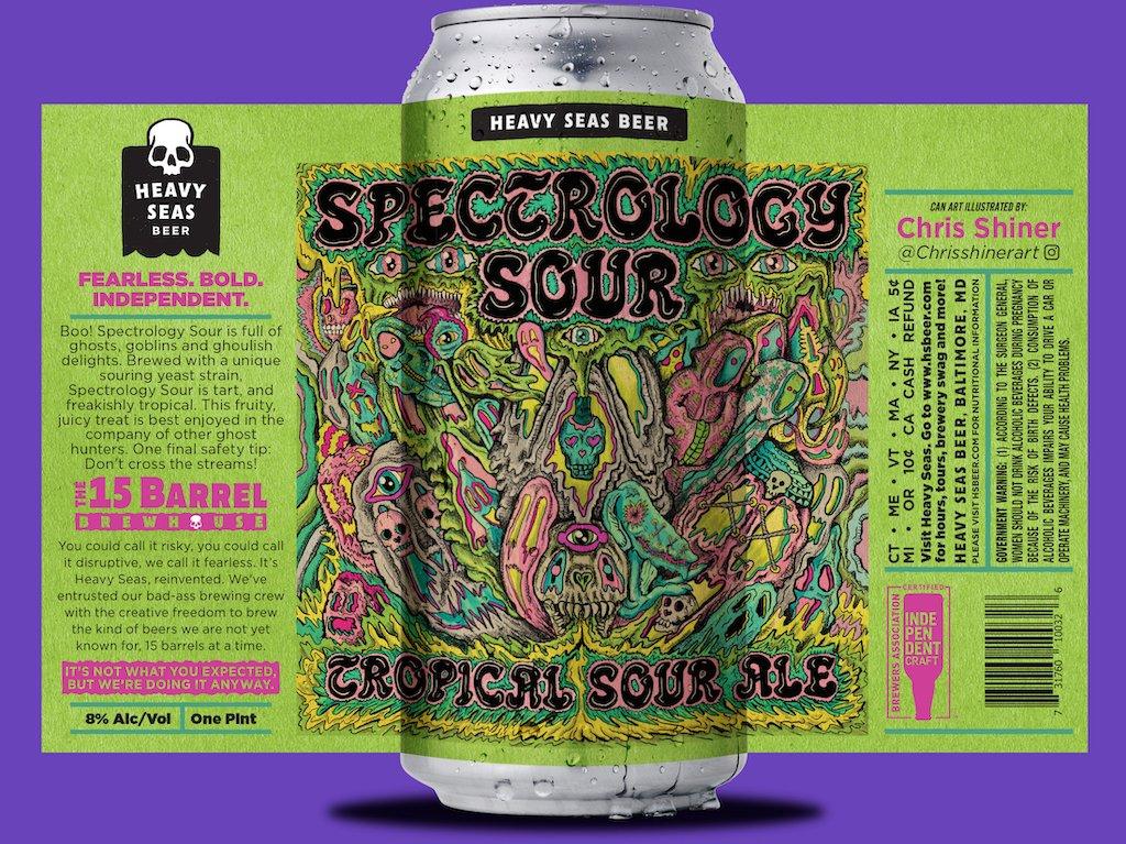 Nueva versión de Heavy Seas Beer Drops , 7