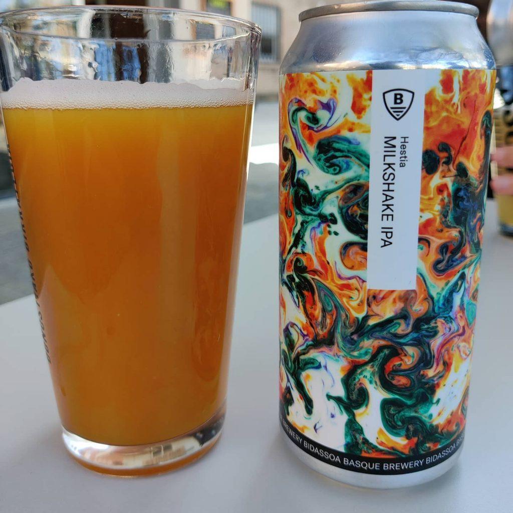 Cerveza Hestia de Bidassoa Brewery 2