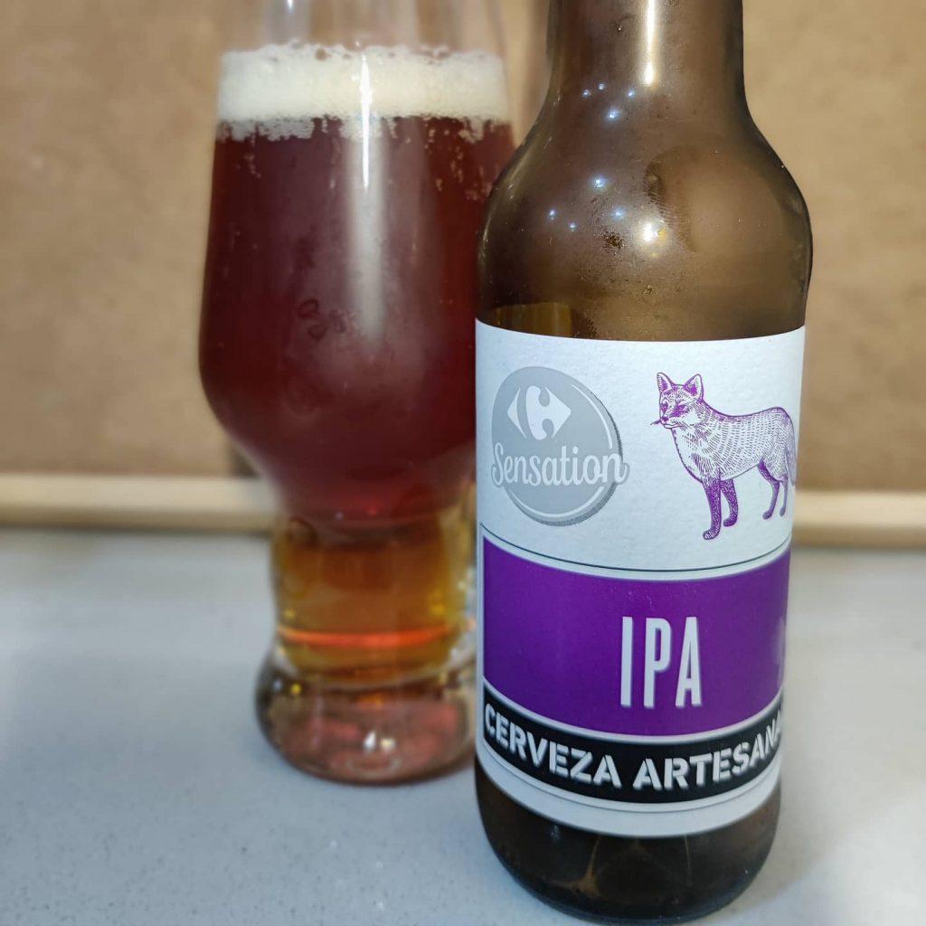 Cerveza IPA Sensation de Carrefour 2