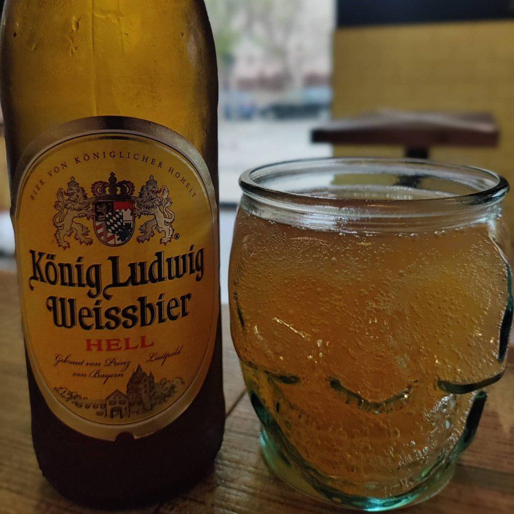Cerveza König Ludwig Weissbier 2