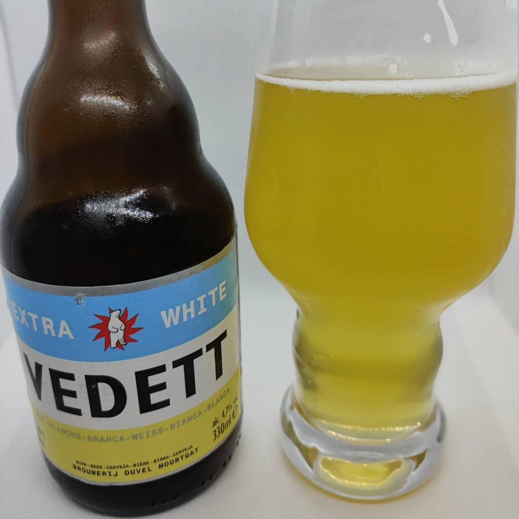 Cerveza Vedett Extra White 1